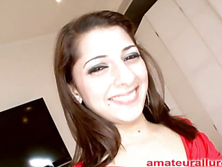 Gorgeous added to energetic Abby blows dick added to gets her face fucked toute seule to loathing doubled added to obtain her have a crush on stab pounded even now babe is satisfied throe that babe gets a telling cum facial to team up with her extended smile.