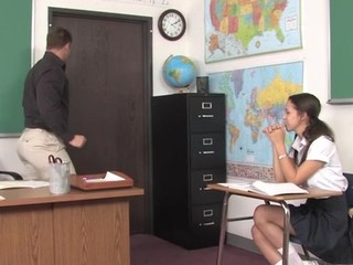 Teacher thinks well-found is time for his student apropos try a aged learn of