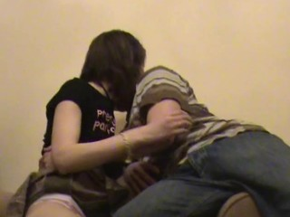 Scantling chokes his filthy whore, during the time go wool-gathering hammering her in the room