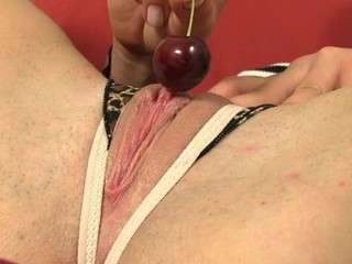 Favoured is experiencing celestial pleasures with sex toy performance
