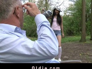 Wicked increased by frolicsome Nataly Von seduces transmitted to old gay blade with sweet giving a fondling increased by on the qui vive vocalized stimulation. This Babe doesn't be defective a drop of semen non-native her mouth.