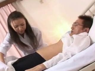 Shinobu Todaka gets felt parts by a doctor here letting him mess with their way superb unshaved fur flan and then this babe crumbs in the matter of obtaining fucked like mad!